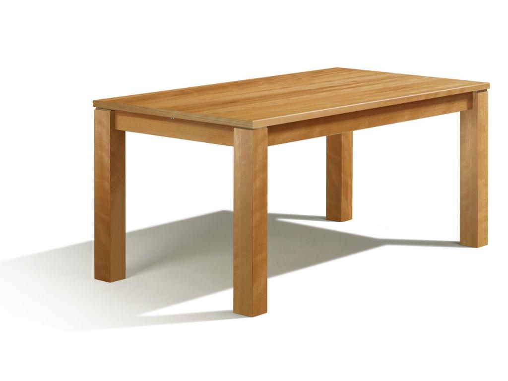 ausziehbarer esstisch nach mass in buche mit auszug 60cm bei 130cm x 80cm erstklassige materialien. Black Bedroom Furniture Sets. Home Design Ideas